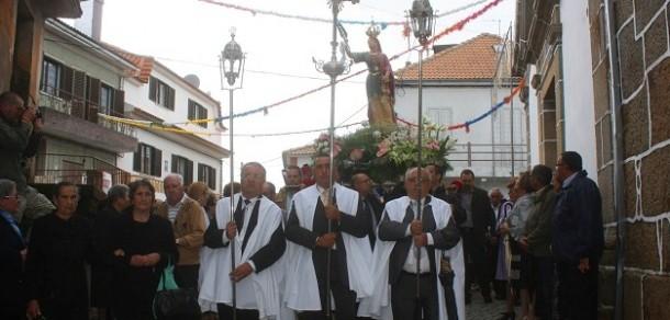 Quadrazais: Festa em honra de Santa Eufêmia
