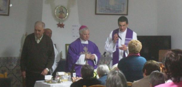 Malcata: Lar recebe bênção do Bispo da Guarda