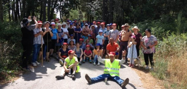 Quintas de S. Bartolomeu: Junta de Freguesia organizou caminhada