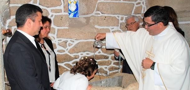 Aldeia da Ribeira: Batizado de Carolina Ribeiro Sanches