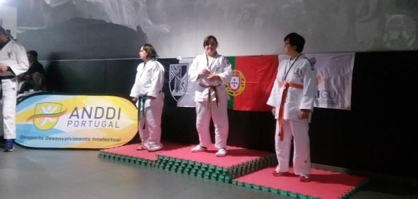 Maria Ribeiro – Campeã em título trouxe medalha de ouro