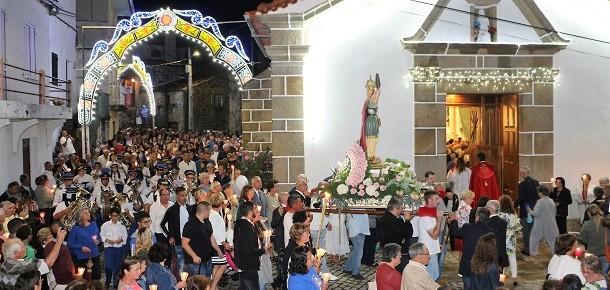Quadrazais: Festas de Santa Eufêmia