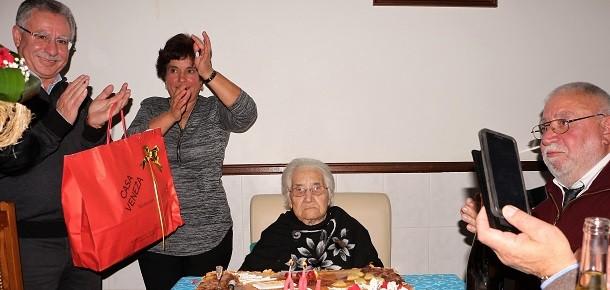 Vila do Touro: Dona Alzira cumpriu um século