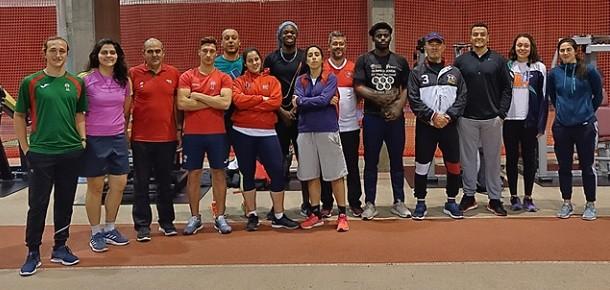 Atletas do Concelho no Centro de Alto Rendimento em Lisboa