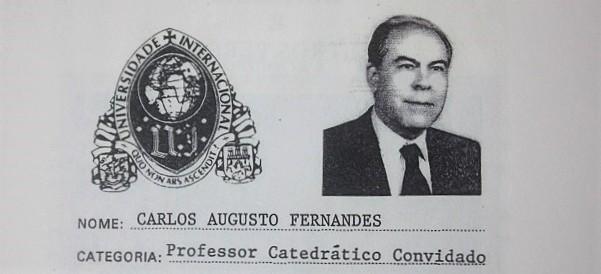 A Coleção do Sr. Embaixador Carlos Fernandes