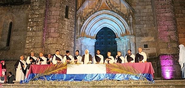 """João Reis, da Quarta-Feira, foi """"Jesus de Nazaré"""" na Guarda"""