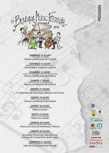 BENDADA - Programa do festival