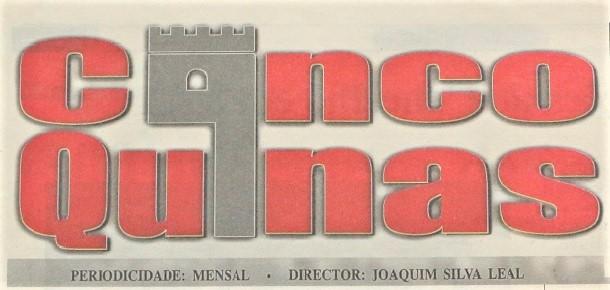 Há 20 anos… foi notícia no Cinco Quinas